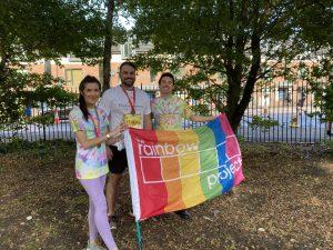 Pinsent Masons Runner finished the Belfast Marathon Relay